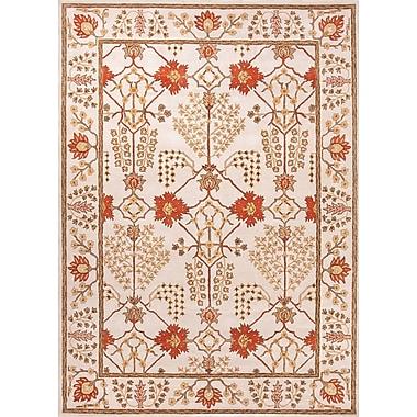 Jaipur Chambery Design Durable Area Rug Wool, 2' x 3'