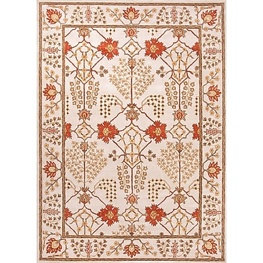 Jaipur Chambery Design Durable Area Rug Wool, 5' x 8'