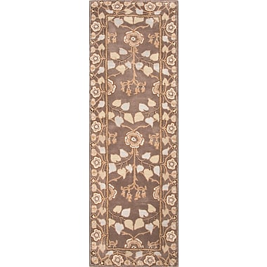 Jaipur Poeme Dark Gray Area Rug Wool, 8' x 2.6'