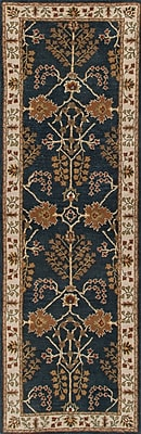 Jaipur Hand-Tufted Arts and Craft Pattern Area Rug Wool, 2.6' x 8'