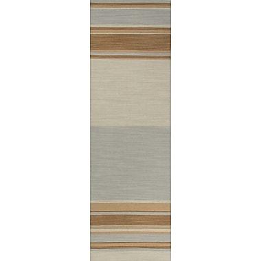Jaipur Kingston Rectangle Area Rug Wool, 2.6x8
