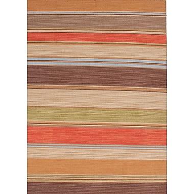Jaipur Pura Vida Area Stripe Rug Wool, 4' x 6'