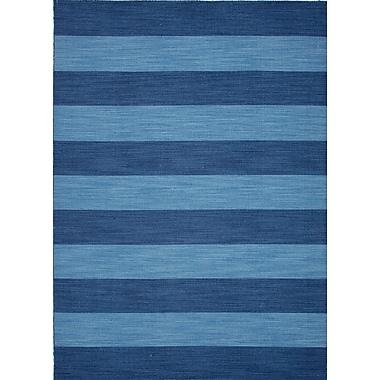 Jaipur Striped Rug Wool, 5' x 8'