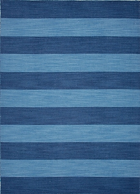 Jaipur Striped Rug Wool, 8' x 5'