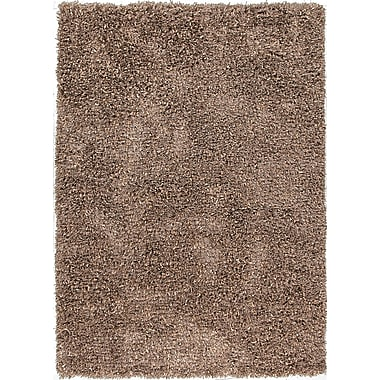 Jaipur Tribeca Brown Solid Area Rug Polyester, 2' x 3'
