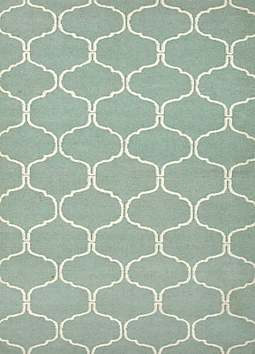 Jaipur Flat Weave Area Rugs Wool, 8' x 5'