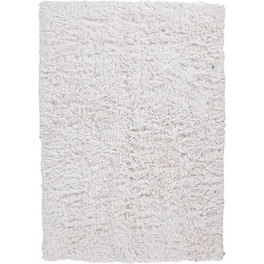 Jaipur Verve White Solid Rug Polyester, 9' x 12'