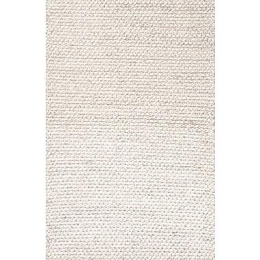 Jaipur Textured Ultra Plush Area Rug Wool, 5' x 8'