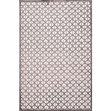 Jaipur Fables Stardust Area Rug Art Silk & Chenille,5'x7.6'