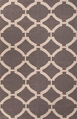 Jaipur Geometric Pattern Rectangle Rug Wool, 8' x 5'