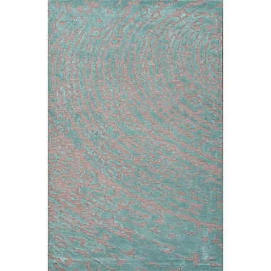 Jaipur Hand-Tufted Lustrous Area Rug Wool & Art Silk, 5' x 8'