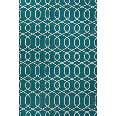 Jaipur Flat-Weave Sabrine Area Rug Wool, 5' x 8'