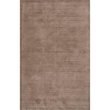 Jaipur Solid Rug Wool & Art Silk, 5' x 8'