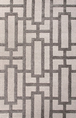 Jaipur Rectangle Rug Wool & Art Silk, 3' x 2'