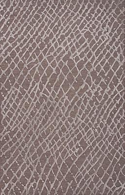 Jaipur Tone-on-Tone Area Rug 70% Wool 30% Art Silk, 2' x 3'