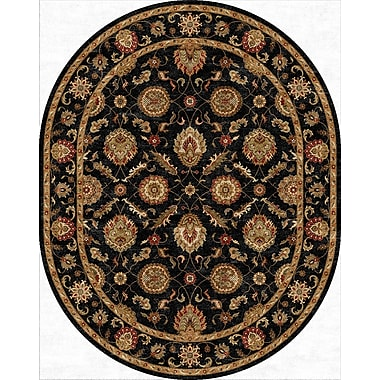 Jaipur Mythos Ebony Area Rug Wool 8' x 10',