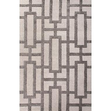 Jaipur Rectangle Rug Wool & Art Silk, 3.6' x 5.6'