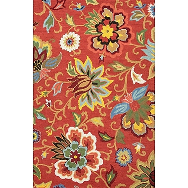 Jaipur Zamora Wool Area Rug Wool, 3.6' x 5.6'