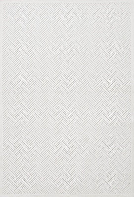 Jaipur Fables Geometric Area Rug Art Silk & Chenille, 7.5' x 9.5'