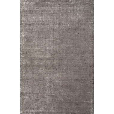 Jaipur Konstrukt Solid Pattern Area Rug Wool & Art Silk 2' x 3'