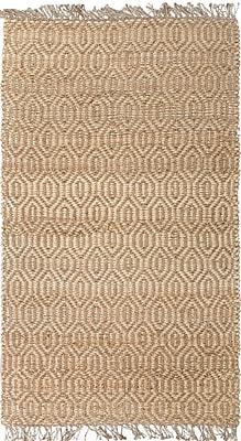 Jaipur Naturals Textured Area Rug Jute, 2' X 3'
