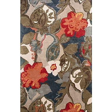 Jaipur Petal Pusher Rectangle Rug Wool & Silk 8' x 10'