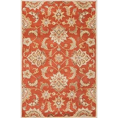Jaipur Mythos Orange Area Rug Wool, 2.6' x 4'