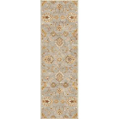 Jaipur Mythos Abers Rectangle Area Rug Wool, 3' x 12'