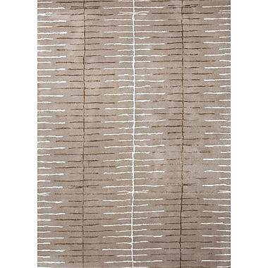 Jaipur Blue Ashwood Geometric Area Rug Wool & Art Silk, 8' x 10'