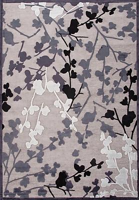 Jaipur Machine Made Floral Pattern Area Rug Art Silk & Chenille, 9' x 12'