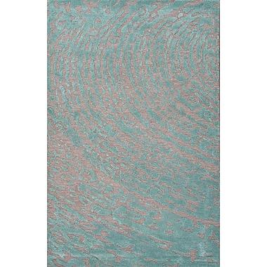 Jaipur Hand-Tufted Lustrous Area Rug Wool & Art Silk, 2' x 3'