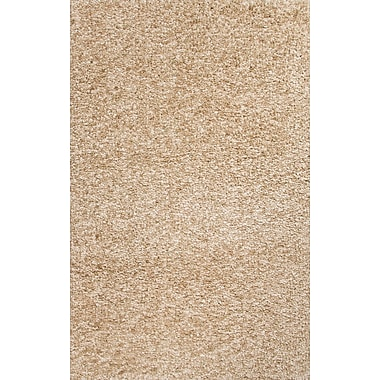 Jaipur Solid Pattern Area Rug Polyester 8' x 10', Beige