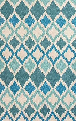 Jaipur Catalina Moroccan Rug 100% Polyester 2' x 3', Blue