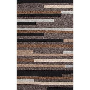 Jaipur Rectangle Rug Border Color Polyester, 2' x 3'