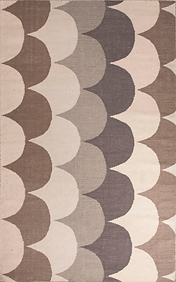 Jaipur Addison and Banks Flat Weave Area Rug Wool, 5' x 8'