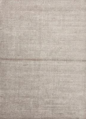 Jaipur Handmade Solid Pattern Wool & Art Silk 10' x 14', Classic Gray