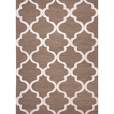 Jaipur City Geometric Area Rug Wool, 8' x 8'