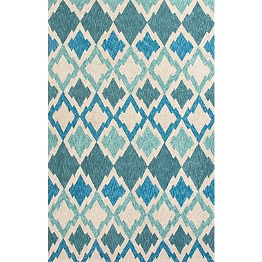Jaipur Outdoor Area Rug Polyester 3' x 5', Blue