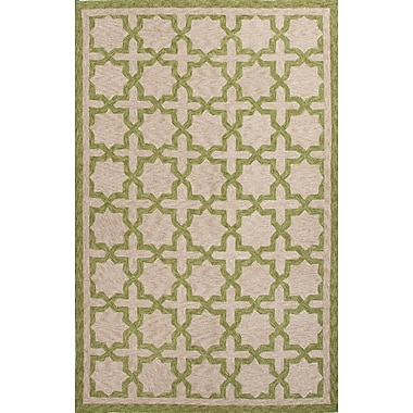 Jaipur Catalina Area Rug Polyester 7.6' x 9.6', Green