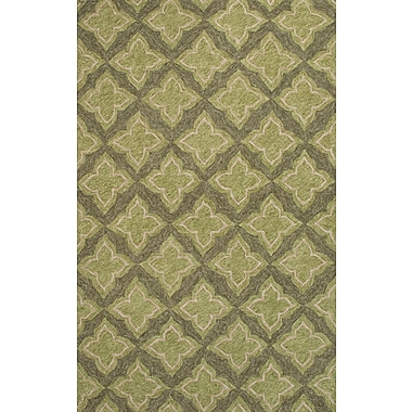 Jaipur Catalina Area Rug Polyester 5' x 7.6', Green