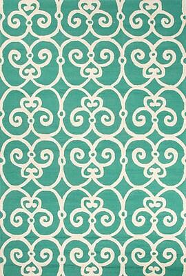 Jaipur Indoor-Outdoor Geometric Pattern Area Rug Polypropylene 5.6' x 3.6'