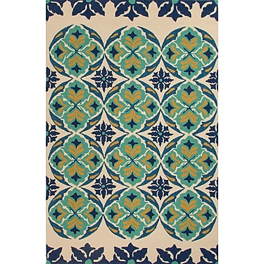 Jaipur Tribal Pattern Area Rug 100% Polypropylene, 7.6' x 9.6'