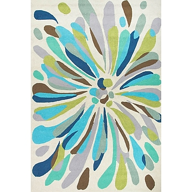 Jaipur Indoor Outdoor Abstract Polypropylene, 7.6' x 9.6'
