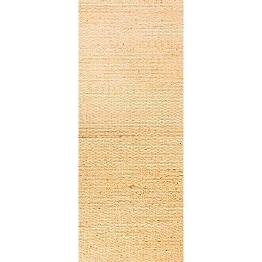 Jaipur Andes Beige Solid Area Rug Jute & Cotton, 2.6' x 9'