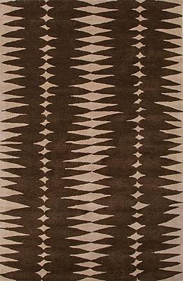Jaipur Geometric Area Rug Wool 2' x 3', Java & Linen