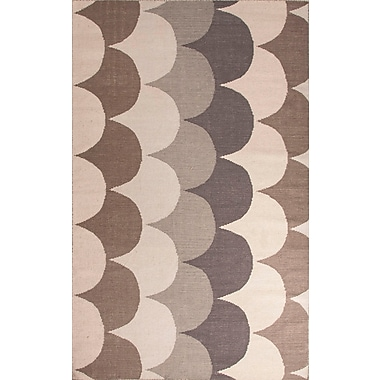 Jaipur Addison and Banks Flat Weave Area Rug Wool, 8' x 11'