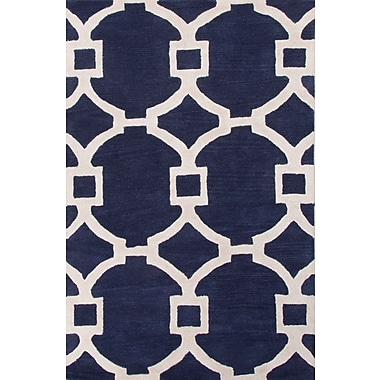 Jaipur Regency Rectangle Area Rug Wool & Art Silk 3.6' x 5.6'