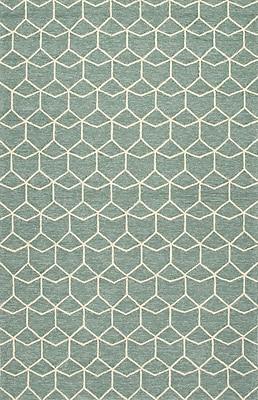 Jaipur Area Rug Polypropylene 7.6' x 9.6', Blue & White