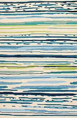 Jaipur Sketchy Lines Rectangle Area Rug 9.6' x 7.6'