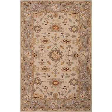 Jaipur Oriental Pattern Area Rug, 2' x 3'